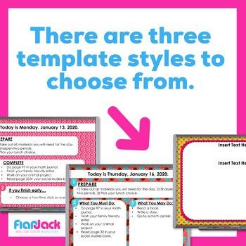 COLOR SCHEME Editable GOOGLE SLIDES Templates Bundle 1