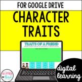 Google Classroom Digital Reading Character Traits