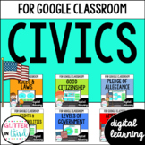 Civics & Government for Google Classroom DIGITAL