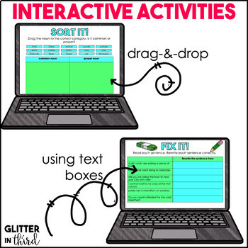 Common & Proper Nouns for Google Drive & Google Classroom
