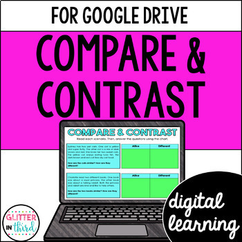Compare & Contrast for Google Classroom DIGITAL