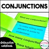 Conjunctions Grammar Interactive Notebook