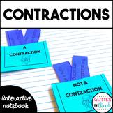 Contractions Grammar Interactive Notebook