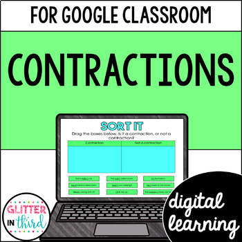 Contractions for Google Drive & Google Classroom