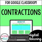 Google Classroom Digital Grammar Contractions