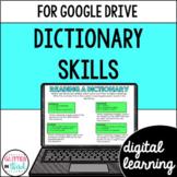 Dictionary Skills for Google Drive & Google Classroom