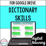 Google Classroom Distance Learning Dictionary Skills