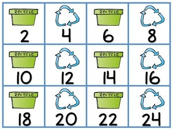Earth Day Skip Counting