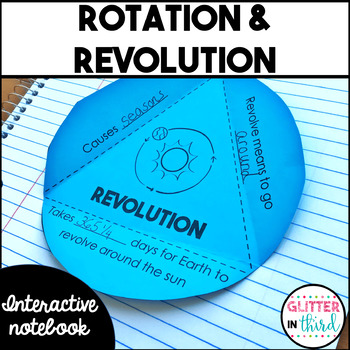 Earth's Rotation and Revolution Interactive Notebook