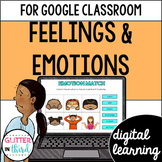 Google Classroom Distance Learning Feelings and emotions