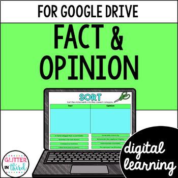 Fact & Opinion for Google Classroom DIGITAL