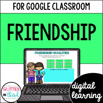 Friendship & Kindness for Google Drive & Classroom HEALTH