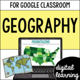 United States Geography VA SOL 2.6 for Google Classroom DIGITAL