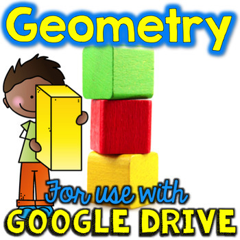 Google Drive & Google Classroom for Geometry & Shapes