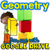 Geometry & Shapes for Math Google Drive & Classroom