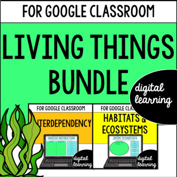 Habitats & Ecosystems for Google Classroom DIGITAL
