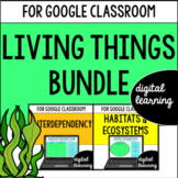 Google Classroom Distance Learning Habitats and Ecosystems