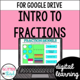 Intro to Fractions for Math Google Drive & Google Classroom