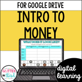 Introduction to money & coins for Google Classroom DIGITAL