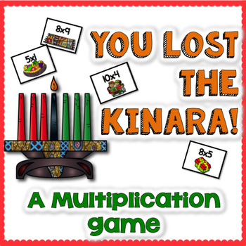Kwanzaa Multiplication Math Game Center