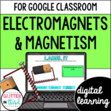 Magnets and Electromagnets for Google Classroom DIGITAL