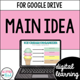 Main Idea in Reading for Google Drive & Google Classroom