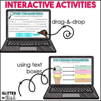 Main Idea for Google Classroom DIGITAL