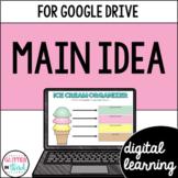 Google Classroom Digital Reading Main Idea