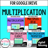 MULTIPLICATION Third-Grade Common Core Bundle for Google Classroom DIGITAL