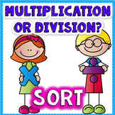 Multiplication or Division Math Game Center
