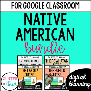 Native Americans for Google Drive & Google Classroom