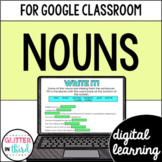 Google Classroom Distance Learning Nouns