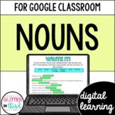 Google Classroom Digital Grammar Nouns