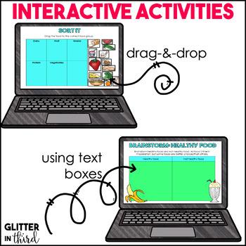 Nutrition for Google Drive & Classroom HEALTH