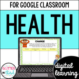Google Classroom Distance Learning Health