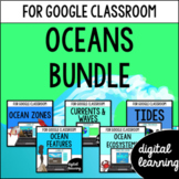 Google Classroom Distance Learning Oceans