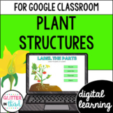 Google Classroom Distance Learning Plant Structures and Parts of a Plant