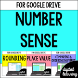 Number Sense for Google Classroom Digital BUNDLE