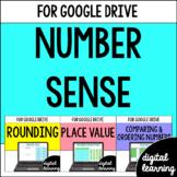 Google Classroom Distance Learning Number Sense BUNDLE