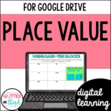 Place value for Google Classroom DIGITAL