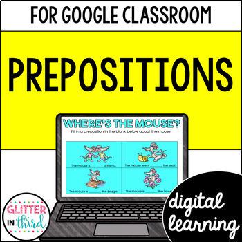 Prepositions for Google Drive & Google Classroom