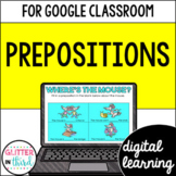 Prepositions for Google Classroom Distance Learning