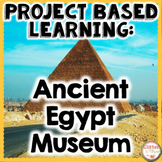 Project Based Learning Activity: Ancient Egypt Social Studies PBL