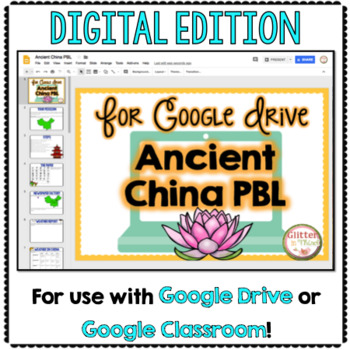 Project Based Learning for Google Drive: Ancient China PBL