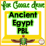 Ancient Egypt Distance Learning Google Classroom PBL