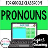 Pronouns for Google Drive & Google Classroom
