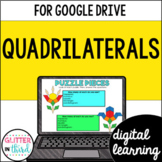 Google Classroom Distance Learning Classifying Quadrilaterals