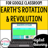 Rotation & revolution of Earth for Google Classroom DIGITAL