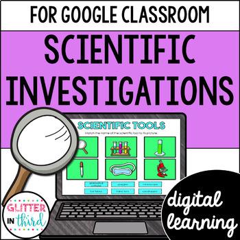 Scientific Method & Investigation for Google Drive & Google Classroom