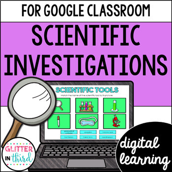 Scientific Method & Investigation for Google Drive & Google Classroom